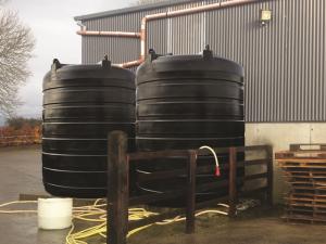 JFC 10,000L Rain Water Harvesting Tank