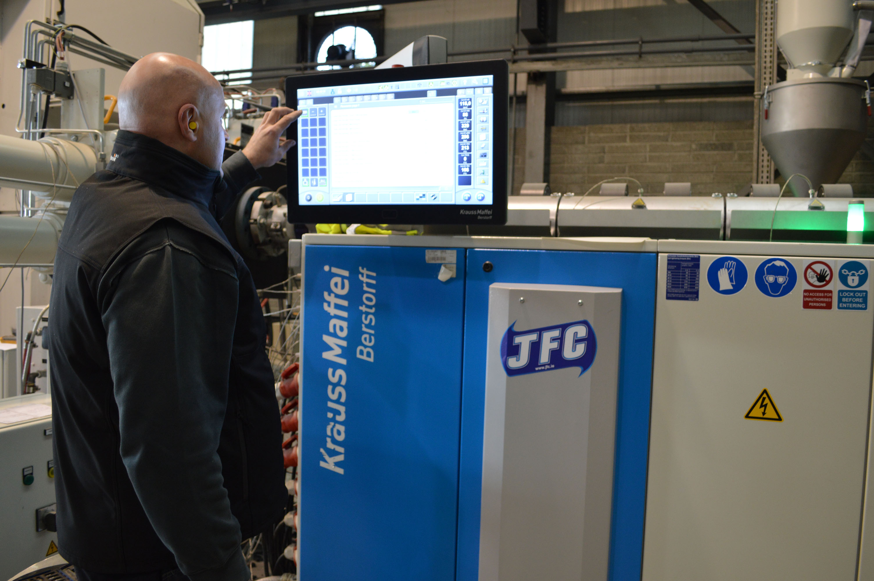 JFC- Large CorriPipe Machine Operation