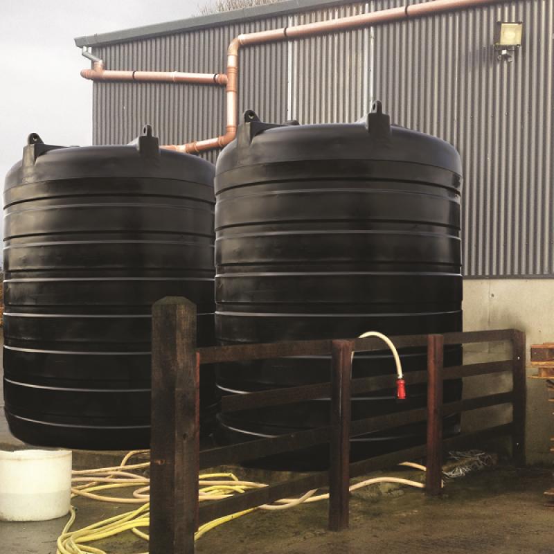 Overground Rainwater Harvesting Tanks Jfc Civils