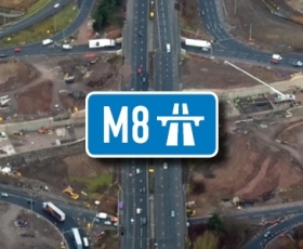 JFC Civils – M8 Motorway Scotland