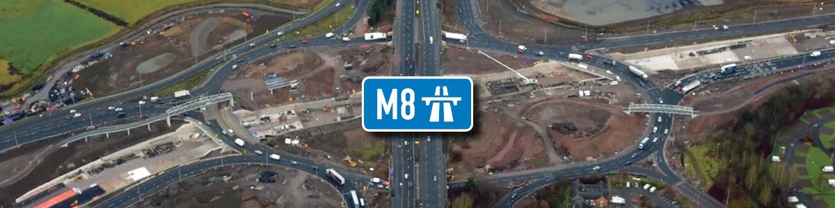 JFC Civils – M8 Motorway Scotland