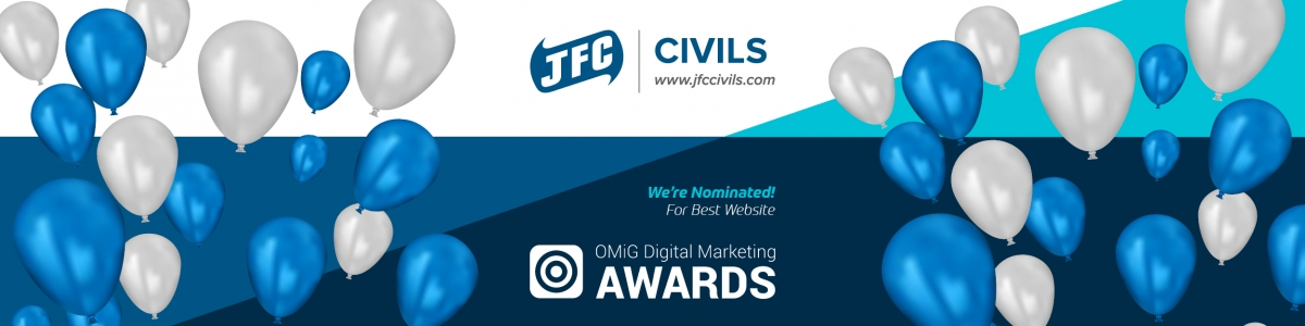 JFC Civils –  Finalist in the OMIG Digital Marketing Awards