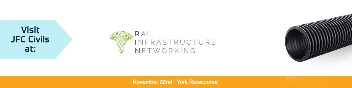 JFC Civils exhibiting at the Rail Infrastructure Networking event, York – 22nd November 2018