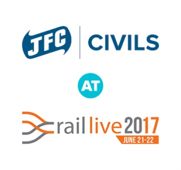 JFC Civils to exhibit at Rail live 2017