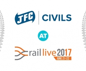 JFC Civils to exhibit at Rail live 2017
