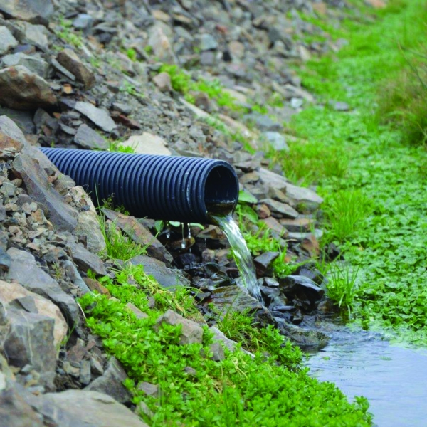 Land drainage Perforated Twinwall CorriPipe™